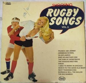 Shocking Rugby Songs LP vinyl Record www.mossymart.com