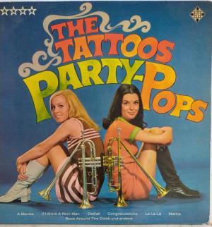 The Tattoos Party Pops LP Vinyl Record www.mossymart.com