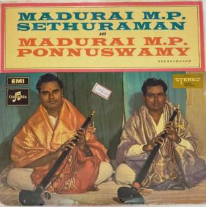 Madurai M P Sethuraman and Ponnuswamy Nadhaswaram Instruments LP Vinyl Record www.mossymart.com