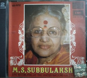 M.S. Subbulakshmi Live recording at the United Nations - Audio CD - www.mossymart.com (2)