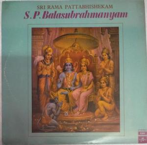 Sri Rama Pattabhisheam LP VInyl Record by S P Balasubrahmanyam www.mossymart.com