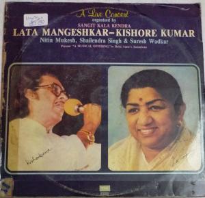 A Live Concert of Lata Mangeshkar and Kishore Kumar Hindi Film songs www.mossymart.com