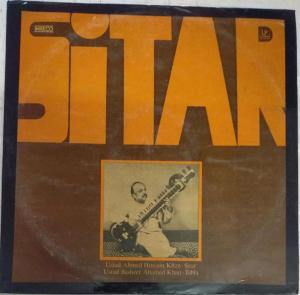 Sitar Instruments LP Vinyl Record by Ustad Ahmed Hussian Khan www.mossymart.com