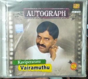 Kaviperarasu Vairamuthu Autograph Tamil Films hits Audio CD www.mossymart.com