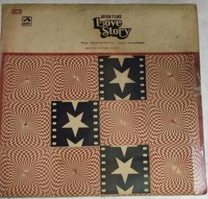 Love Story Hindi FIlm LP VInyl Record by RD Burman www.mossymart.com
