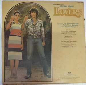 Lovers Hindi Film LP Vinyl Record by R D Burman www.mossymart.com