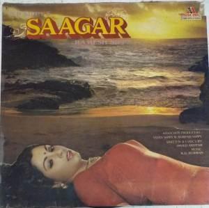 Saagar Hindi Film LP Vinyl Record by R D Burman www.mossymart.com