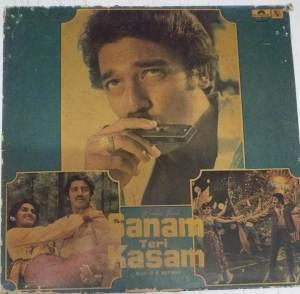 Sanam Teri Kasam Hindi Film LP Vinyl Record by R D Burman www.mossymart.com