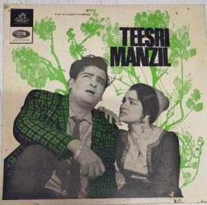 Teesri Manzil Hindi Film LP Vinyl Record by R D Burman www.mossymart.com