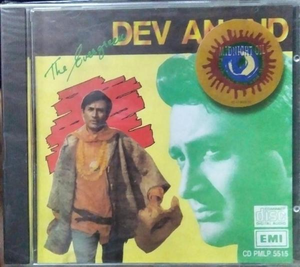 The Evergreen Hits from Hindi Films starrer Dev Anand Audio CD www.mossymart.com
