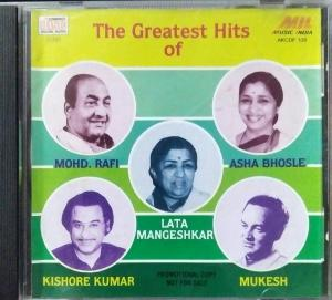 The Greatest Hits from Hindi Films Audio CD www.mossymart.com