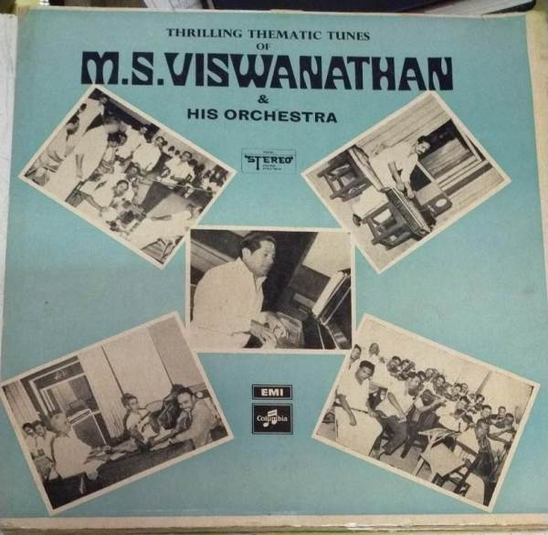 Thrilling Thematic Tunes of M S Viswanathan and his Orchestra LP Vinyl Record www.mossymart.com 1