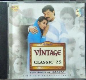 Vintage Classic 25 tamil Film Hits Audio CD www.mossymart.com