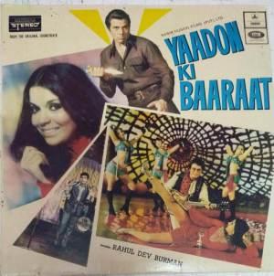 Yaadon Ki Baaraat Hindi Film LP Vinyl Record by R D Burman www.mossymart.com