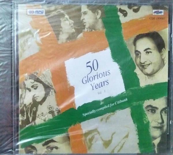 50 Glories Years Hindi Film Hits Audio CD www.mossymart.com 2