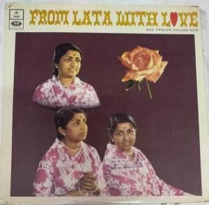 From Latha with love Hindi Film Hits LP Vinyl Record by Latha Mangeskar www.mossymart.com