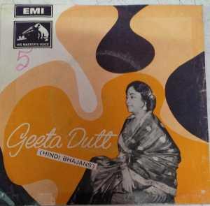 Geeta Dutt Hindi Bhajans EP Vinyl Record www.mossymart.com
