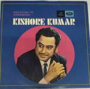 Melodies To Remember Kishore Kumar Hindi Vinyl Record www.mossymart.com