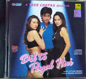 Dil To Pagal Hai - Hindi Audio CD by Anu Malik - www.mossymart.com