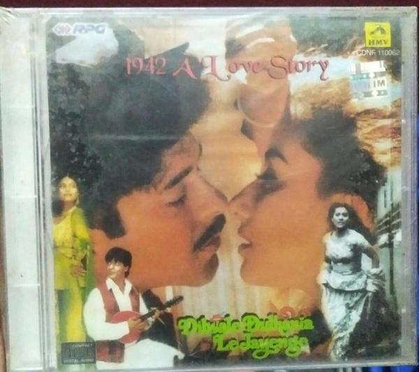 Dilwale Dulhaniya Le Jayenge - 1942 A Love Story Hindi Film Audio CD www.mossymart.com 2