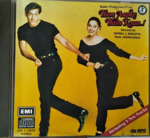 Hum Aapke Hain Koun Hindi Film Audio CD www.mossymart.com 1