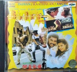 Indian - Kadhalan- Aasai Tamil Film Audio CD by AR Rahman www.mossymart.com 2