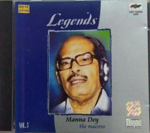 Legends Hindi Film hits Audio CD by Manna Day Vol 3 www.mossymart.com 1
