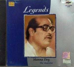 Legends Hindi Film hits Audio CD by Manna Day Vol 4 www.mossymart.com 1