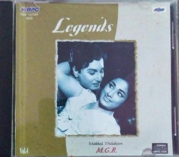 Legends MGR Starrer Tamil film Hits Audio CD www.mossymart.com 1