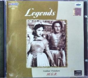 Legends Makkal Thilagam MGR - Vol-1 - Tamil Audio CD - www.mossymart.com