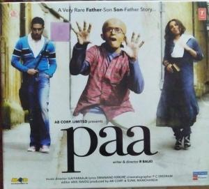 Paa Hindi Film Audio CD by Ilayaraja www.mossymart.com 1