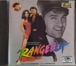 Rangeela - Hindi Audio CD by A.R. Rahman - www.mossymart.com