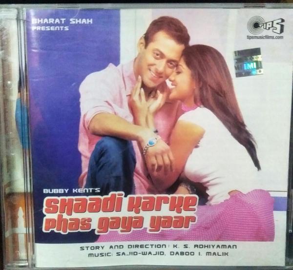 Shaadi Karke Phas Gaya Yaar Hindi Film Audio CD by Sajid Wajid www.mossymart.com 1