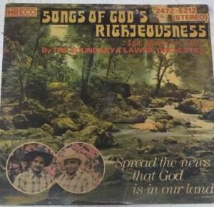 Songs of God's Christian devotional Tamil LP Vinyl Record www.mossymart.com 1