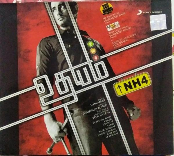 Udhayam NH 4 Tamil Film Audio CD by G V Prakash Kumar www.mossymart.com 1