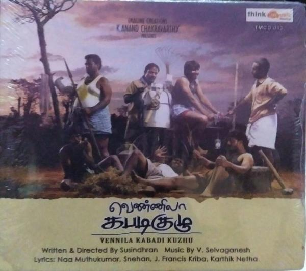 Vennila Kabadi Kuzhu Tamil Film Audio CD by V Selvaganesh www.mossymart.com