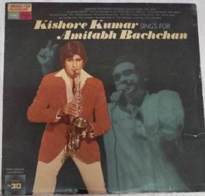Kishore Kumar Sings for Amitabh Bachchan Hindi LP VInyl Record www.mossymart.com1