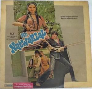 Mr. Natwarlal Hindi LP VInyl Record by Rajesh Roshan www.mossymart.com1