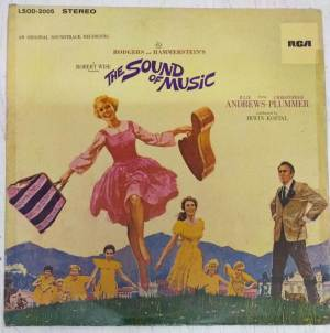 The Sound of Music English LP VInyl Record www.mossymart.com