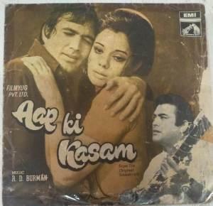 Aap Ki kasam Hindi Film EP Vinyl Record by R D Burman www.mossymart.com 2