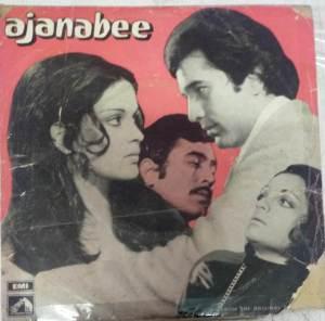Ajanabee Hindi Film EP Vinyl Record by Rahul Dev Burman www.mossymart.com 2