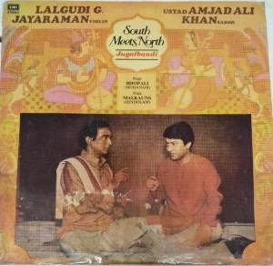South Meets North Jugalbandi Classical LP Vinyl Record by Lalgudi G Jayaraman -Ustad Amjadali Khan www.mossymart.com 1