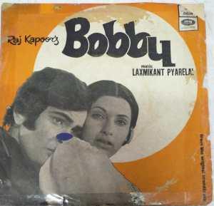 Bobby Hindi Film EP Vinyl Record by Laxmikant Pyarelal www.mossymart.com 1