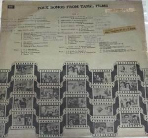 Folk Songs from Tamil Films LP Vinyl Record www.mossymart.com 1