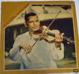Instrumental Violin LP Vinyl Record by M S Gopalakrishnan www.mossymart.com 1