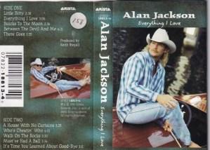 Alan Jackson English album Audio Cassette www.mossymart.com 1