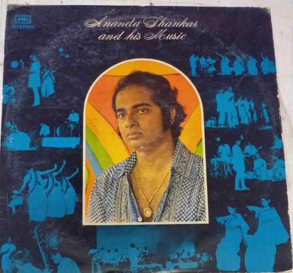 Ananda Shankar and his music LP Vinyl Record www.mossymart.com 1
