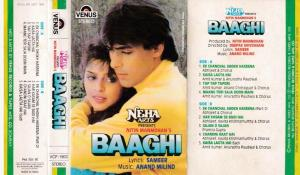 Baaghi Hindi Film Audio Cassette by Anand Milind www.mossymart.com 1