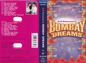 Bombay Dreams Tamil Film Audio Cassette by A R Rahman www.mossymart.com 1
