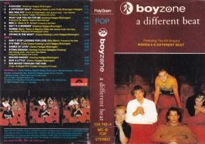 Boyzone a different beat English Album ( western music) Audio Cassette www.mossymart.com 1